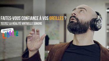Première mondiale : une expérience VR sonore ce week-end à Liège