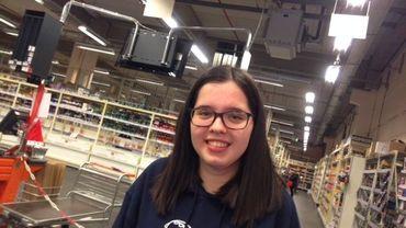 Elisa Lopomo, au travail ce 31 décembre