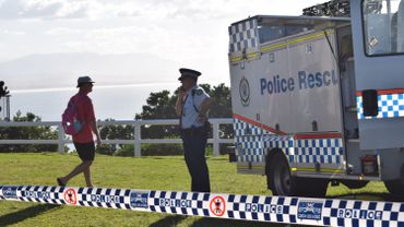La police australienne à Byron Bay