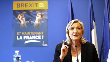 Marine Le Pen en juin 2016