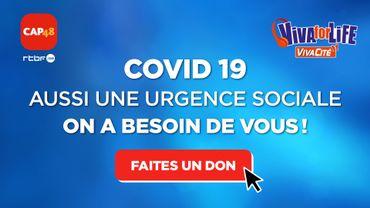 Coronavirus : appel aux dons de CAP48 et Viva for Life pour les populations fragilisées