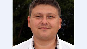 """Jonathan Ghilbert, tête de liste du parti """"Actions"""" à Pecq"""
