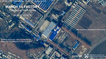 Corée du nord: des images satellite dévoilent le cadeau de Noël de Kim Jong-un à Trump