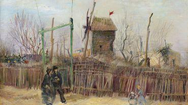 """""""Scène de rue à Montmartre"""" de Vincent Van Gogh (1887) est estimé entre 5 et 8 millions d'euros par Sotheby's."""