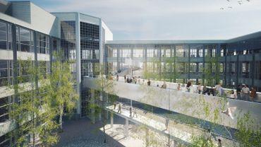 La future cité des métiers de Liège