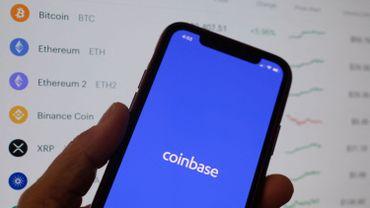 Le logo de Coinbase
