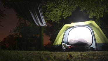 Le camping bénéfique pour mieux dormir