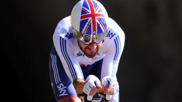 Wiggins vise la barre des 55 km dans l'heure