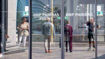 Un millier d'emplois menacés chez BNP Paribas Fortis, dont 800 via des départs anticipés