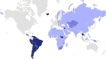 Reconnaissance de l'État palestinien : 135 pays, bientôt plus? (carte)