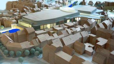 L'une des maquettes du projet (présentée en 2007-2008).