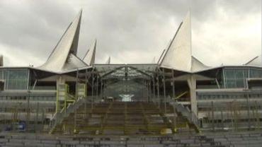 Le palais de justice d'Anvers