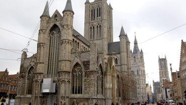 L'église Saint-Nicolas à Gand.