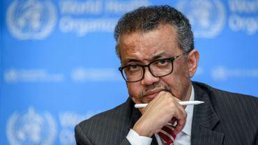 L'Ethiopien Tedros Adhanom Ghebreyesus directeur général de l'OMS.