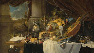 """""""A banquet still life"""" de Jan Davidsz. de Heem pourrait atteindre 7,9 millions de dollars chez Christie's."""