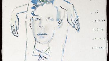 """Arthur Rimbaud"", Sarah Kaliski, Huile sur toile, 1999"