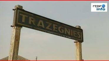 La gare de Trazegnies