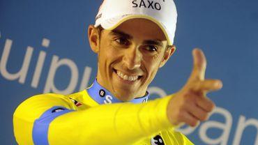 Cyclisme: Contador toujours solide leader de l'UCI WorldTour