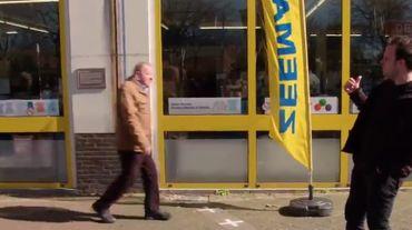 Coronavirus: la situation insolite de ce magasin à moitié fermé, car sur la frontière belgo hollandaise