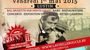 Ce vendredi aura lieu une course cycliste particulière : la Vieille Boucle Lustinoise, à Lustin dans le Namurois.