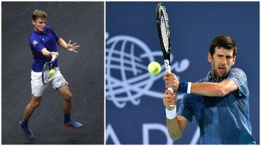 Djokovic bien ancré sur son trône pour entamer 2019, Goffin 22ème