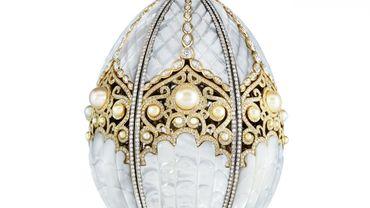 Un nouvel oeuf impérial Fabergé dévoilé au Qatar, 99 ans après le dernier