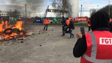 Restructuration Fedex: grève de 48h, aucun avion déchargé à Liège
