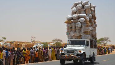 Le camp de Diffa le 17 mai 2016. Les combats ont déplacé plus de 240 000 personnes provoquant une grave crise alimentaire.