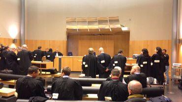 Le procès Ville, avec tous ses prévenus, avait réuni un bon nombre d'avocats à Charleroi