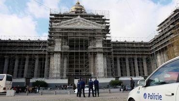 Le Palais de Justice de Bruxelles où devrait avoir lieu le procès d'assises, en français