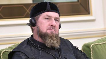 Le dirigeant tchétchène Kadyrov.