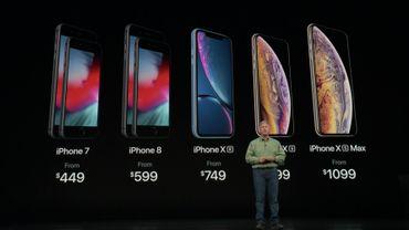 Les prochains iPhone se déclineront en trois modèles