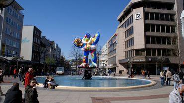 Une sculpture de Niki de Saint Phalle
