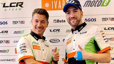 Xavier Siméon, à droite