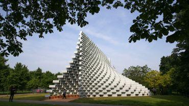 Le nouveau pavillon de la galerie Serpentine de Londres, conçu par Bjarke Ingels