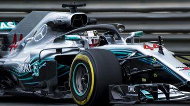 Hamilton le plus rapide des EL1 en Chine, Vandoorne 18e