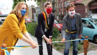 Molenbeek: 1 km de piste cyclo-piétonne rue Alphonse Vandenpeereboom