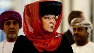 La reine Beatrix en visite au sultanat d'Oman