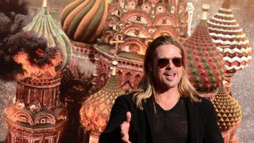 "Brad Pitt signe son plus grand succès au box-office mondial avec ""World War Z"""