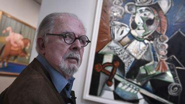 """L'artiste colombien Fernando Botero est au centre de l'exposition  """"Botero, dialogue avec Picasso"""", qui se tient jusqu'au 11 mars à Aix-en-Provence."""