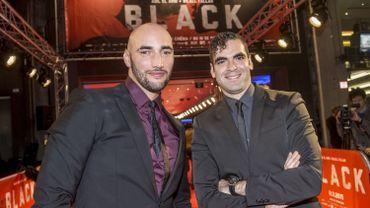 "Bilall Fallah et Adil el Arbi, à la première de ""Black"""