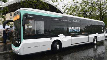 Grosse augmentation du nombre de bus électriques en circulation en Europe.