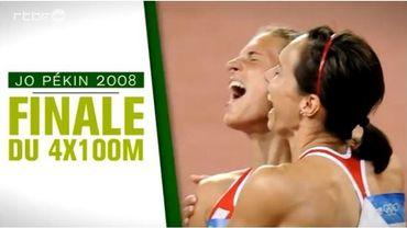 Pékin 2008: Le rêve argenté du relais belge