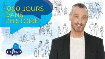 Dès cet été, emmenez avec vous Laurent Dehossay et... 1000 Jours dans l'Histoire!