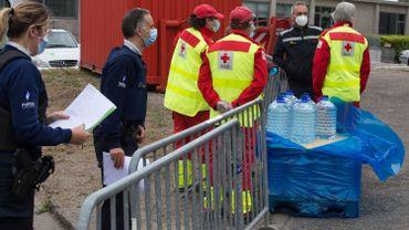 Sécheresse: de l'eau potable disponible chez les pompiers pour les habitants d'Overijse