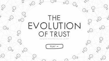 """The Evolution of Trust"" : la confiance règne ?"