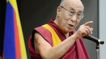Le dalaï lama, le 13 novembre 2012 à Tokyo