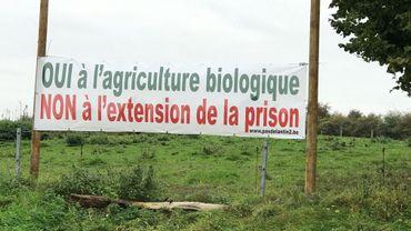Sur ces terrains agricoles, bientôt l'extension de la prison?