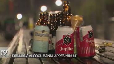 377 procès-verbaux ont été dressés dans le cadre de l'arrêté interdisant la consommation d'alcool sur la voie publique en application depuis le 15 mars dans le quartier Flagey.