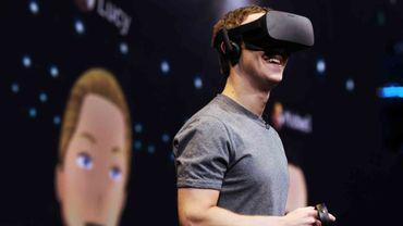 Facebook prépare un casque de réalité virtuel autonome pour 2018